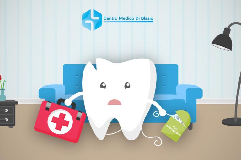 Primo soccorso odontoiatrico a casa: come comportarsi